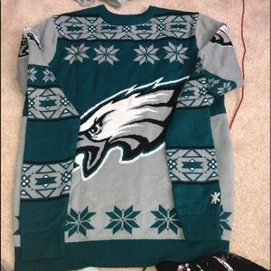 Sweaters - Ugly eagles xmas sweater